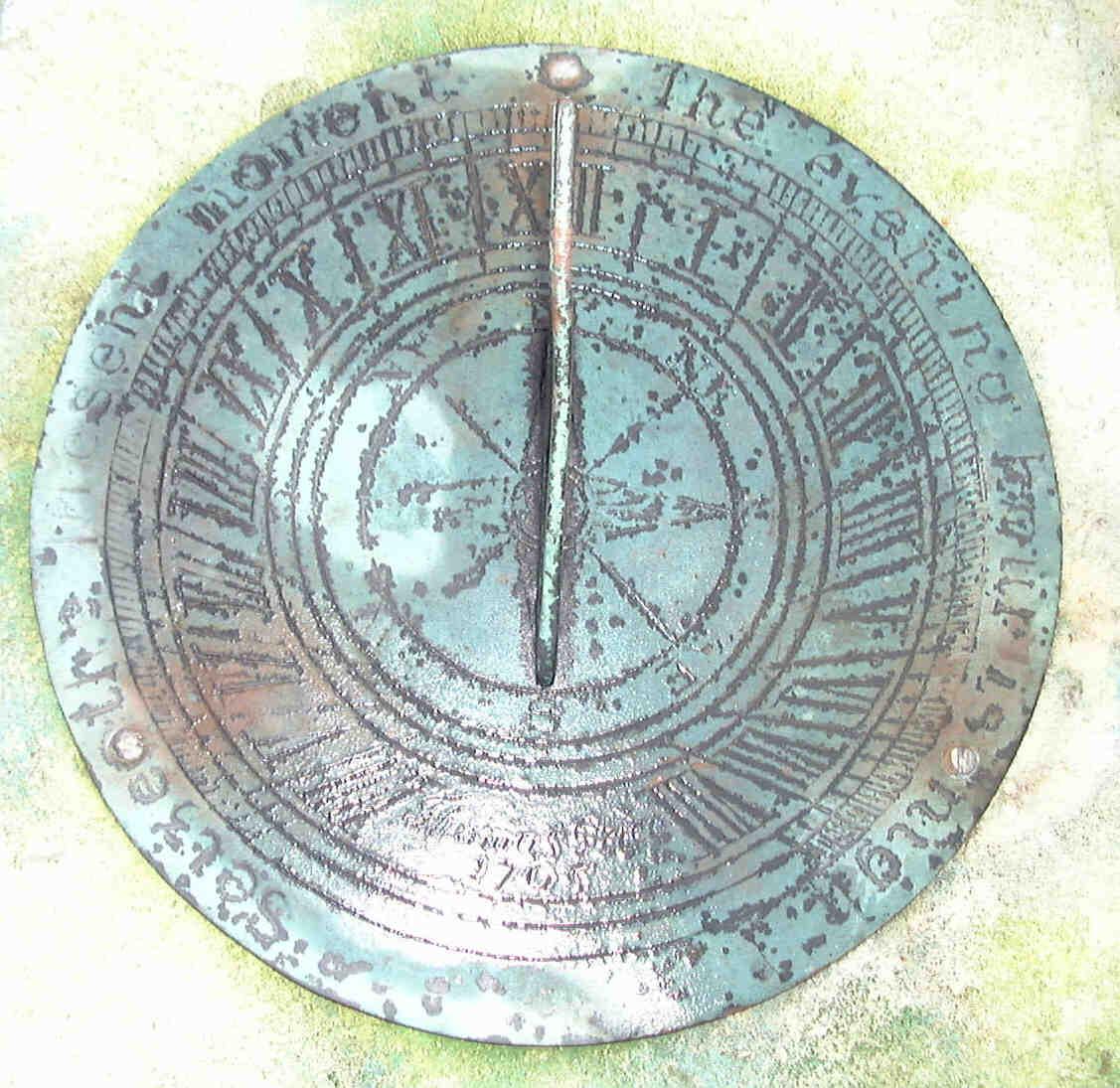 Old Westbury Gardens Sundial: Jardinique Old Antique Sundials